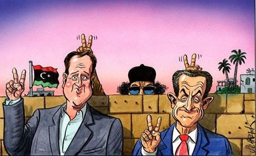 Cameron, Sarkozy, better have a look behind you ... ;-)